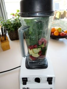 Smoothie in the Blender